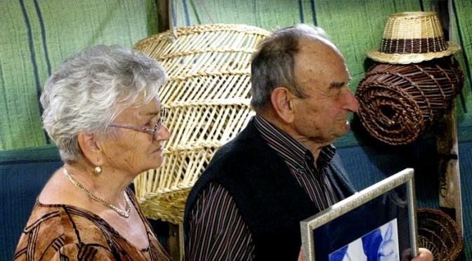 Severino Todari e sua moglie